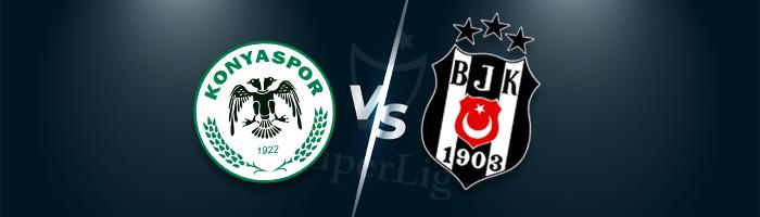 Süper Lig İddaa Tahminleri : Konyaspor - Beşiktaş