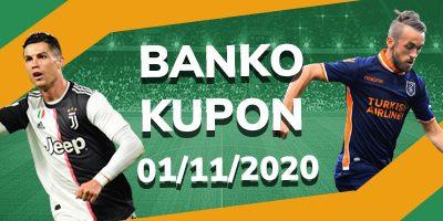 1 Kasım Banko Kupon