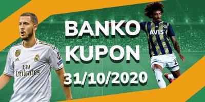 31 Ekim Banko Kupon