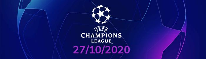 Şampiyonlar Ligi İddaa Tahminleri : 27 Ekim Salı