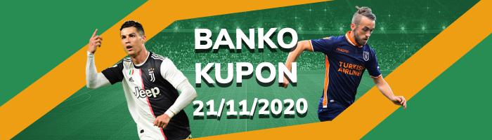 21 Kasım banko kupon