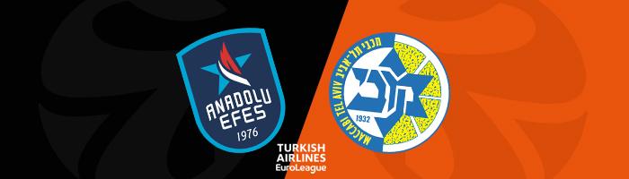 Euroleague Tahminleri Anadolu Efes - Maccabi