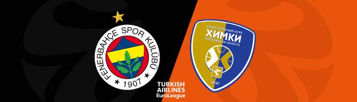 Euroleague Tahminleri Fenerbahçe - Khimki Moskova
