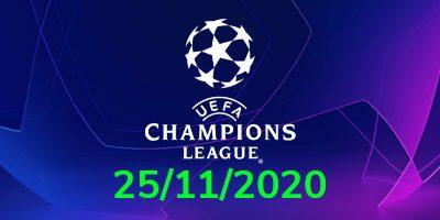 Şampiyonlar Ligi İddaa Tahminleri 25 Kasım