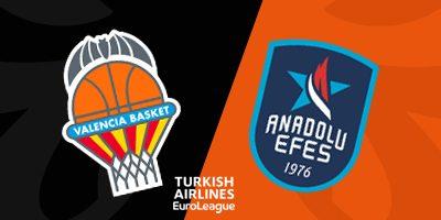 Euroleague Tahminleri Valencia - Anadolu Efes