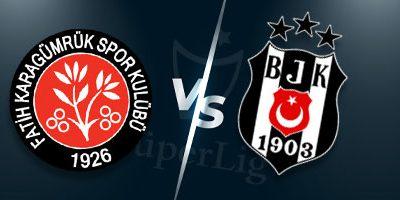 Süper Lig İddaa Tahminleri : Karagümrük - Beşiktaş