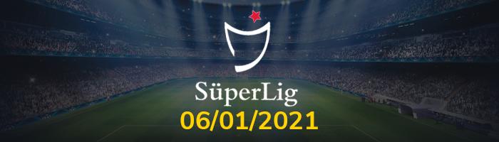 Süper Lig İddaa Tahminleri - 6 Ocak