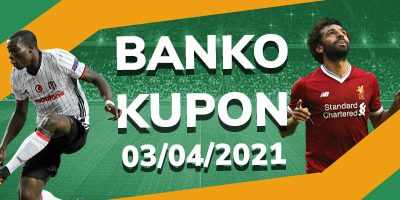Banko Kupon 3 Nisan