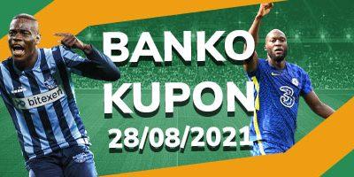 Banko İddaa Kuponu 28 Ağustos