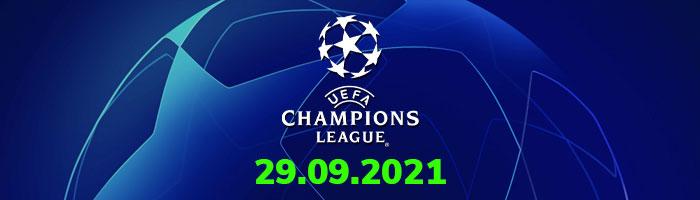 Şampiyonlar Ligi İddaa Tahminleri 29 Eylül
