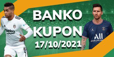 Banko İddaa Kuponu 17 Ekim